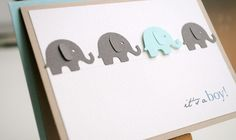 Find cute image on circuit. Make one a different color. Stamp whatever saying you want.