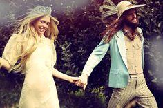 Theodora Richards + Vintage Inspiration = Dreamy Wedding Looks