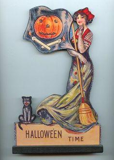 vintage vintag halloween, halloween craftsidea
