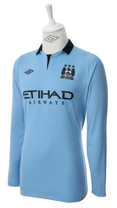 Umbro Manchester City 2012 Long Sleeved Home Shirt