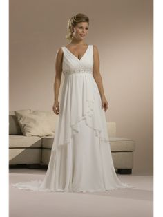 Wedding dresses large busted women marry me pinterest for Wedding dresses for big busted women