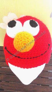 ELMO Hat - Media - Crochet Me