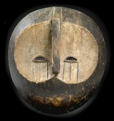 Tsogho (also known as Mitsogho or Tsogbo), Vili, Gabon: An unusual mask.