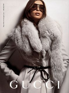gucci, fashion, furs, style, silver foxes, beauti, grey, tom ford, coat