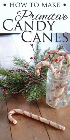 How To Make Primitive Candy Canes