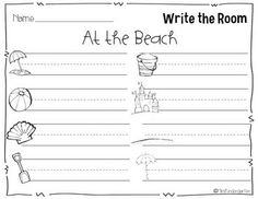 Write the Room- great for your writing center!