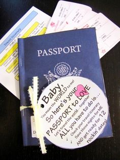 Passport to Love - can't wait to do this!
