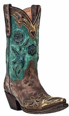 Dan Post Blue Bird Boots