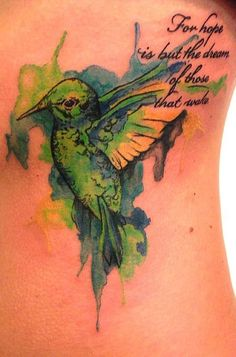 watercolor tattoos for girls - Google Search
