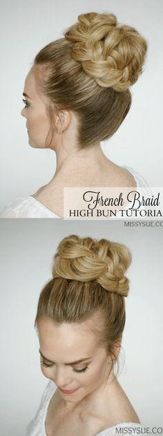 peinados para bodas moños altos