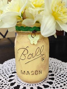 Which is cooler -- this sweet mason jar vase or the matching luminary?