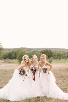 After all my friends and I get married we should do a photo shoot in our dresses!