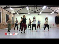 'Blurred Lines' Robin Thicke choreography by Jasmine Meakin (Mega Jam) - YouTube