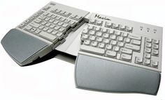 Pivoting keyboard