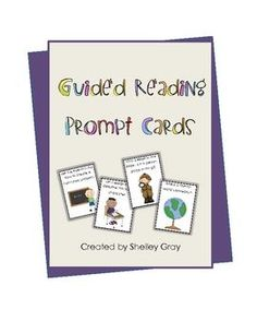 Guided reading. I use these