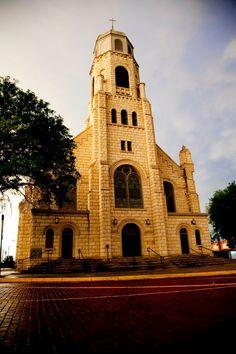 Historic St. Joseph Catholic Church in #DowntownHays