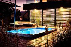 Swim Spa in deck