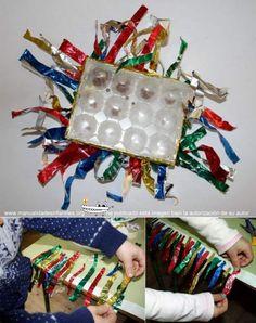 instrumentos navideños reciclados