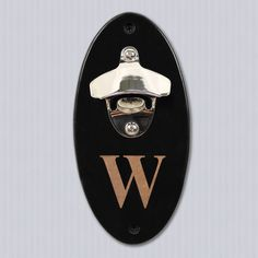 Wall Mounted Bottle Opener w/ Personalization