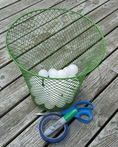 Sight Word Shoot-- All you need is a bucket and ping pong balls. Write sight words, alphabet or any other skill on the ball have have students take a ball and read it. If they can read it they get to shoot it. Simple, easy and fun! Awesome