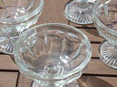 Vintage Sundae Glasses #vintage #afternoon tea #englishtea #teaparty