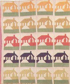 Honeymoon Cottage, 1935. Ruby S. McKim pattern.