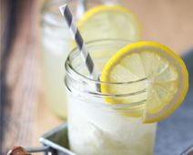 Lemon Vanilla Bean Cream Soda soda stream, lemon vanilla