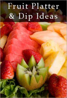 Fruit dips