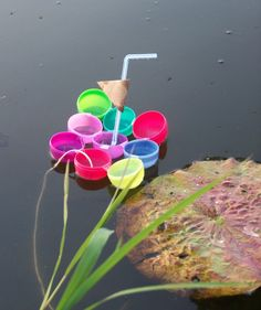 Exploring Science with DIY Boats -- once Easter is over, use plastic eggs for a fun build-a-boat challenge!