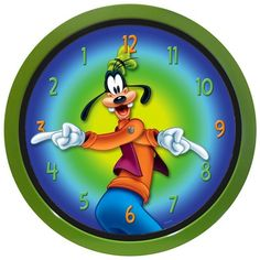 Summer Splash Deals: Goofy Backwards Clock. ON SALE NOW FOR 1950 POINTS