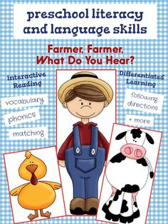 An interactive book and activities for preschoolers  Aligns with Teaching Strategies Gold Created by My Speech Room Graphics by: www.scrappindoodles.com