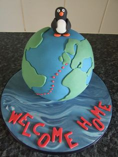 Welcome Home Cake by cakes-by-kerry, via Flickr