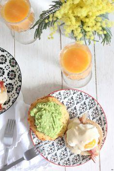 Benedict Eggs for breakfast