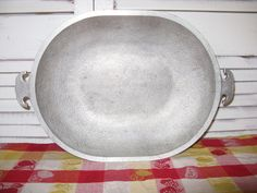 guardian service hammered aluminum 15 in. meat by rivertownvintage, $29.95