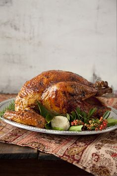 Rum Glazed Turkey at PaulaDeen.com