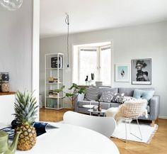 Grey walls for the win - via Coco Lapine Design