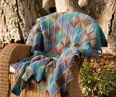 Ravelry: Make It Mitered Afghan pattern by JoAnne Turcotte