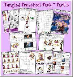 tangled preschool 3
