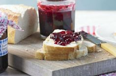 Baie Rose and Orange-Scented Red Berry No-Cook Freezer Jam | This freezer jam recipe utilizes pink peppercorns for a floral, peppery finish.