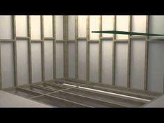 How to Install a Wetroom -- instructables bathroom idea, tini bathroom