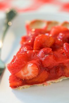 food strawberry desserts strawberry pie pie recipes whipped cream