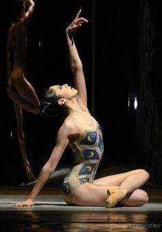 The Royal Ballet's Beatriz Stix-Brunell in 'Trespass'. Photo: © Alice Pennefather. #stage #ballet #royalballet #metamorphosistitian2012 #trespass #beatrizstixburnell