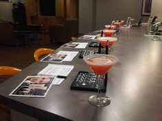 I LOVE this idea! Martinis and Makeovers! I am making it my mission to book as many of these types of parties as possible, they just sound so fun!