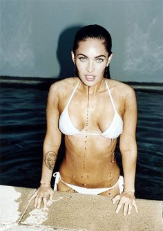 Megan Fox by Terry Richardson for GQ Oct 2008