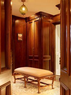 elegant closet space