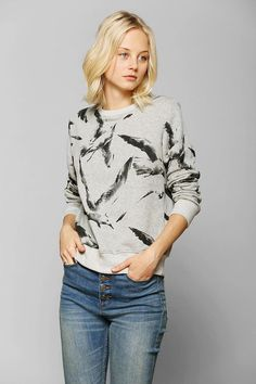 Your Eyes Lie Bird Flock Pullover Sweatshirt #urbanoutfitters