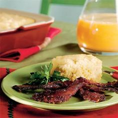 Cheddar Cheese Grits Casserole | MyRecipes.com - from Southern Living