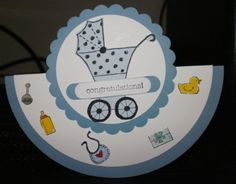 Baby rocker by Veronica Kettle Stamp Set Baby Bundle