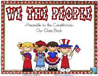 Rockin' Teacher Materials: We the People - Constitution Class Book FREEBIE!