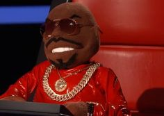 CeeLo Green is a muppet! #TheVoice